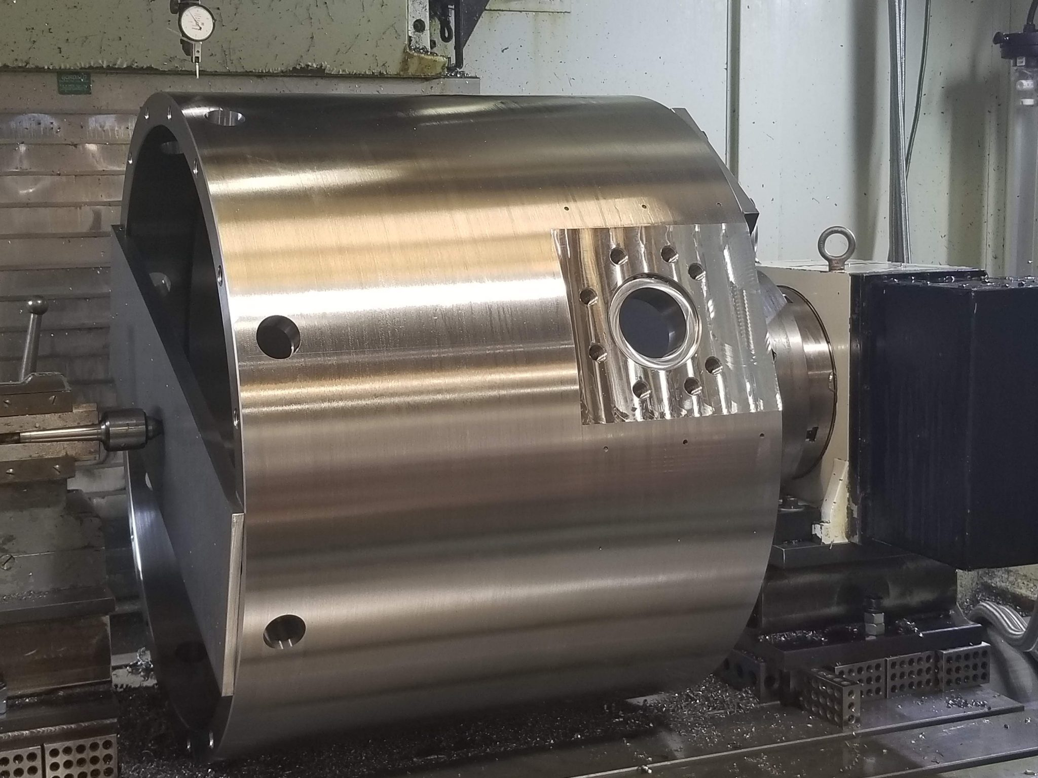 large machined parts